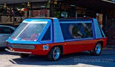 Virtual Vanner's Custom Van. Great Blog on Vans!