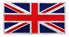 Amazon.com: British Union Jack Embroidered Patch England Flag UK ...