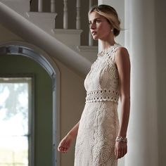 With details like kissing lovebirds peekaboo lace and heart shaped embroidery its no wonder weve heard the Roane Gown described as a treasure. (link in profile to shop) by bhldn