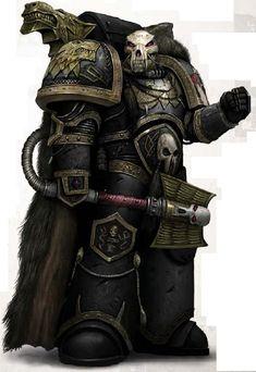 Ulrik The Slayer, Space Wolf Space Marine Wolf Priest