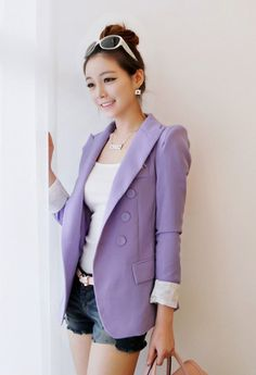 Purple  jacket ♥