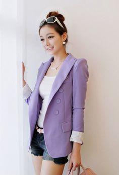 Purple  jacket ♥