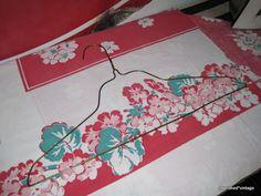 cherished*vintage: Wire Hanger Makeover