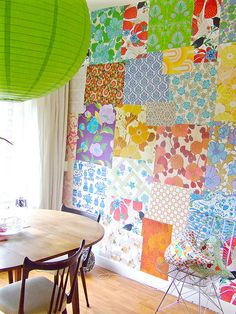 patchwork wallpaper