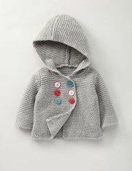 Sweet knit kids jacket