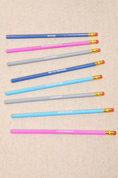 Pencils Have Feelings Too set