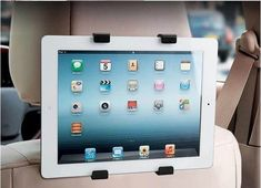 OBSHI Holder for a tablet Car Back Seat Headrest Mount  For iPad 2 3/4 Air 5 Air 6 ipad mini 1/2/3 SAMSUNG tablet car holder