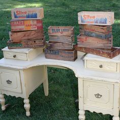 Vintage Smaller Wood Boxes