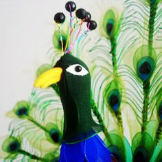 Photo gallery, Made from mesh nylon: Peacock, (nvp000021)