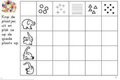 Werkblaadje Thema Elmer: vul matrix in Elmer The Elephants, Autumn Crafts, Eric Carle, Album, Teaching, Safari, Preschool, Phonological Awareness Activities, Educational Games For Children