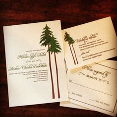 Heather Ink {Design + Life} - Heather Ink Blog - A Day Among Giants {wedding invitationdesign}