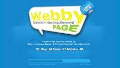 WebbyPage - Malaysia's One Stop Web Solution for:  Blog, e-Commerce, Forum's & Personal Page under one single system! Your need of website, we build it just to your requirement! $1500 Online Web, Seo Services, Web Development, Ecommerce, Web Design, Website, Blog, Design Web, Blogging