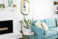High-Impact DIY Upgrades to Transform a Rental Living Room