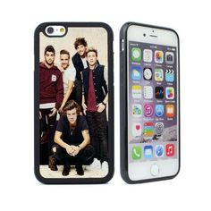 For iPhone 4 4s 5 5s 5c 6 6 plus Harry Styles One Direction Rubber... via Polyvore featuring accessories and tech accessories