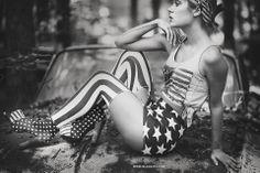 Stars  Stripes. Styled and shot by Sasha Holloway of BLEULIPS