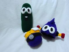 Amigurumi Vegetable Patterns : More harvest knit and crochet u vegetables u free patterns