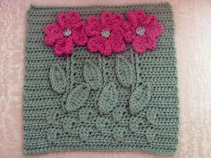 Darlene Swaim's Bloom Where You are Planted block pattern free via Ravelry download