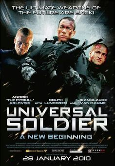 Universal Soldier 'A new beginning'