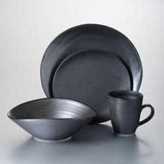 Barre Dinnerware by Simon Pearce from www.laterrinedirect.com