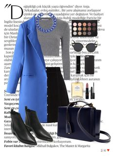 """""""cold colors"""" by sashasamoylenko ❤ liked on Polyvore featuring mode, Balmain, AG Adriano Goldschmied, Glamorous, Mark Cross, Acne Studios, KOON, BaubleBar, Chanel et MAC Cosmetics"""