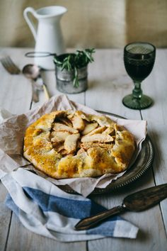 Apple and Onion Galette with Rosemary Crust | Red Star to Lone Star