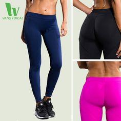 Vansydical yoga quần phụ nữ tập thể dục sexy hips push up xà cạp thoáng khí chạy vớ thể thao leggins phụ nữ thể thao fbf031-2