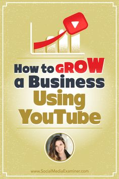 Do you want to use YouTube for business?  Want to learn how to script and produce YouTube videos for your business?  To find out how marketers can develop a business channel on YouTube, Michael Stelzner interviews Sunny Lenarduzzi (@sunnylenarduzzi). Via @smexaminer.