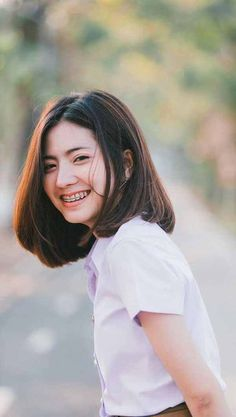 15 Classy Short Bob Hairstyles & Haircuts with Bangs Medium Hair Cuts, Short Hair Cuts, Medium Hair Styles, Long Hair Styles, Asian Short Hair, Girl Short Hair, Short Hair Korean Style, Korean Short Hairstyle, Korean Haircut Medium