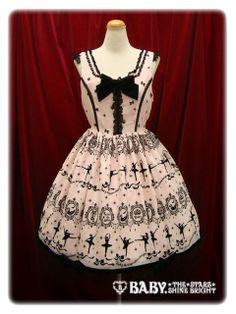 Baby the Stars Shine Bright / Jumper Skirt / Le lac des Cygnes Print Primadonna JSK