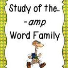 #teachers #tpt This unit provides plenty of fun, learning centered around the -amp word family! Students will have plenty of practice learning new words, writing...