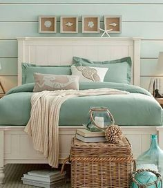 Beach Style Bedroom Ideas - Coastal bedroom ideas, inspiration, and also develops to develop a seaside, . ideas about Bedroom themes, Coastal bed rooms and also Beach Home Style. Beach House Bedroom, Beach Room, Beach House Decor, Home Bedroom, Home Decor, Beach Cottage Bedrooms, Beach Inspired Bedroom, Beach Style Bedroom Decor, Beach Apartment Decor