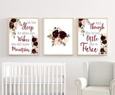 Add these beautiful floral Nursery Wall Decor to finish the nursery room. HOW TO ORDER -Choose Print Size -Proceed with check out. Chic Nursery, Nursery Wall Decor, Girl Nursery, Nursery Room, Room Decor, Floral Bedroom, Floral Nursery, Nursery Colours, Baby Room Wall Art
