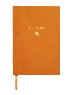 Creepy Crawlies - Queen Bee Notebook  Head honcho on a mission - keeping it all in check. Long Live the Queen!