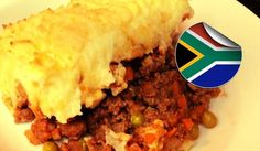 Boerepastei, better known as cottage pie or shepherd's pie in English is also a South African favourite. Here is a delicious cottage pie recipe to try. Curry Recipes, Pie Recipes, Cooking Recipes, Salted Caramel Fudge, Salted Caramels, South African Recipes, Ethnic Recipes, Mince Pies, Meat Pies