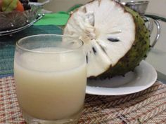 The Sour Sop or the fruit from the Graviola tree is a miraculous natural cancer cell killer times stronger than Chemo. A study at Purdue University recently found that leaves from the Graviola tree killed cancer cells among six human cell lines and Cancer Fighting Foods, Cancer Cure, Cancer Cells, Colon Cancer, Breast Cancer, Herbal Remedies, Health Remedies, Flu Remedies, Natural Cures