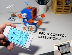 This awesome and unique RC Toy Robot is designed by Jaehong Eric Han. The idea is to have an interaction between analog and digital. It realized by controlling the RC Toy Robot with an iPhone or iPad devices.