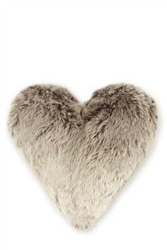Buy Polar Heart Faux Fur Charcoal Cushion from the Next UK online shop Master Room, Winter Warmers, Cozy House, Soft Furnishings, Cosy, Home Accessories, Bean Bag Chair, Faux Fur, New Homes