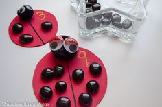 Ladybug Counting Busy Bag by Preschool Inspirations