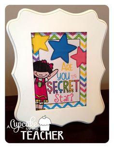 Secret Star {Freebie} >>