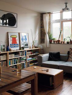 Home Interior Design, Interior Decorating, Single Apartment, Japanese Living Rooms, Cozy Room, Little Houses, Room Colors, Decoration, Living Room Designs