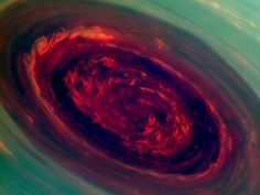Huragan na Saturnie