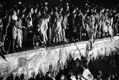 destruction of the Berlin Wall