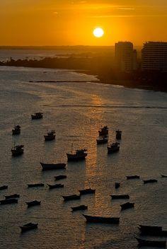 sunset, Porlamar, Isla de Margarita, Venezuela