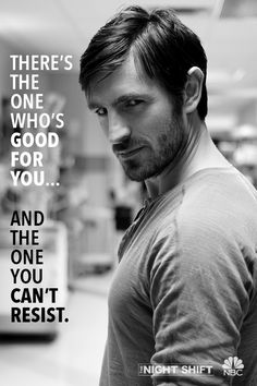 Just what the doctor ordered. Watch Eoin Macken on The Night Shift Mondays at 10/9c on NBC starting February 23, 2015.