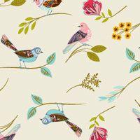 Melody Bird Print tissue paper