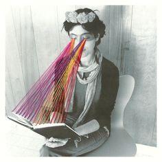 Mana Morimoto embroidered photographs series