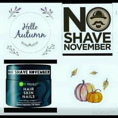 """Hey guys!👥 I """"mustache"""" you a VERY important question: Are you ready for 🚫No Shave November? Not sure if you'll """"beard out"""" the competition? It Works Hair Skin & Nails will help you grow that beard/mustache you've been wanting😎👨🏻 Contact me today to learn how to save over $20 and earn $10 back for future purchases! 407-580-0168"""