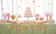 Make A Table Runner With Candy