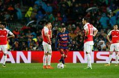 Arsenal thi đấu quá bạc nhược trước Barcelona ~ Kết quả bóng đá 123