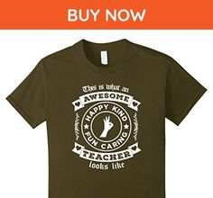 Kids This Is What An Awesome Teacher Looks Like: Funny Tee Shirt 8 Olive - Careers professions shirts (*Amazon Partner-Link)